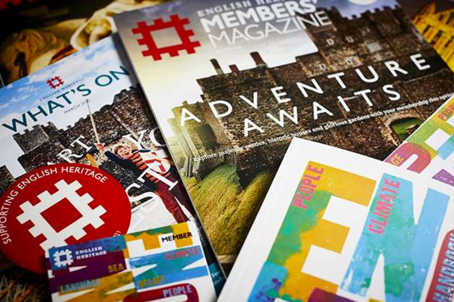 Charity Gifts from English Heritage